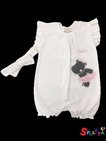 Macacão Infantil Feminino Ballet