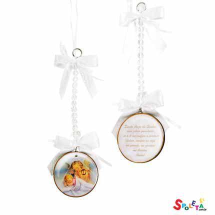 Medalhão De Berço - Santo Anjo Do Senhor
