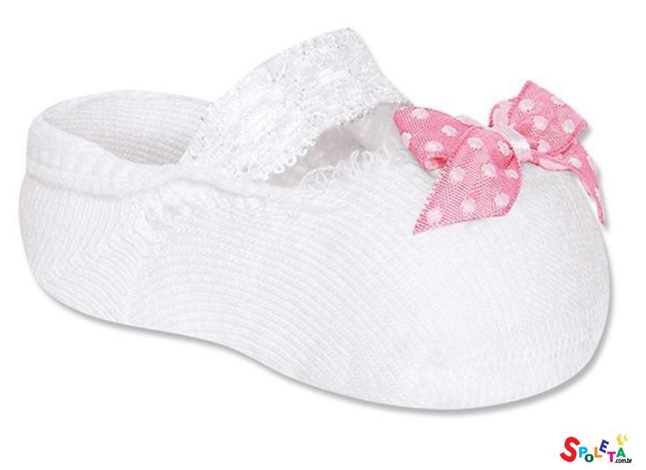 Meia sapatilha  recém nascido