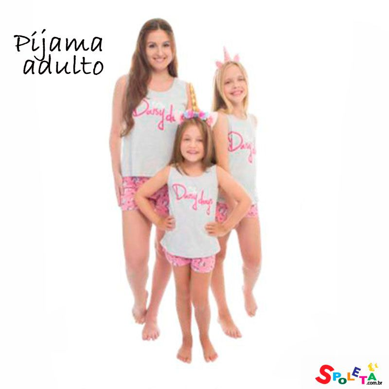 Pijama Adulto Daisy Days Evanilda