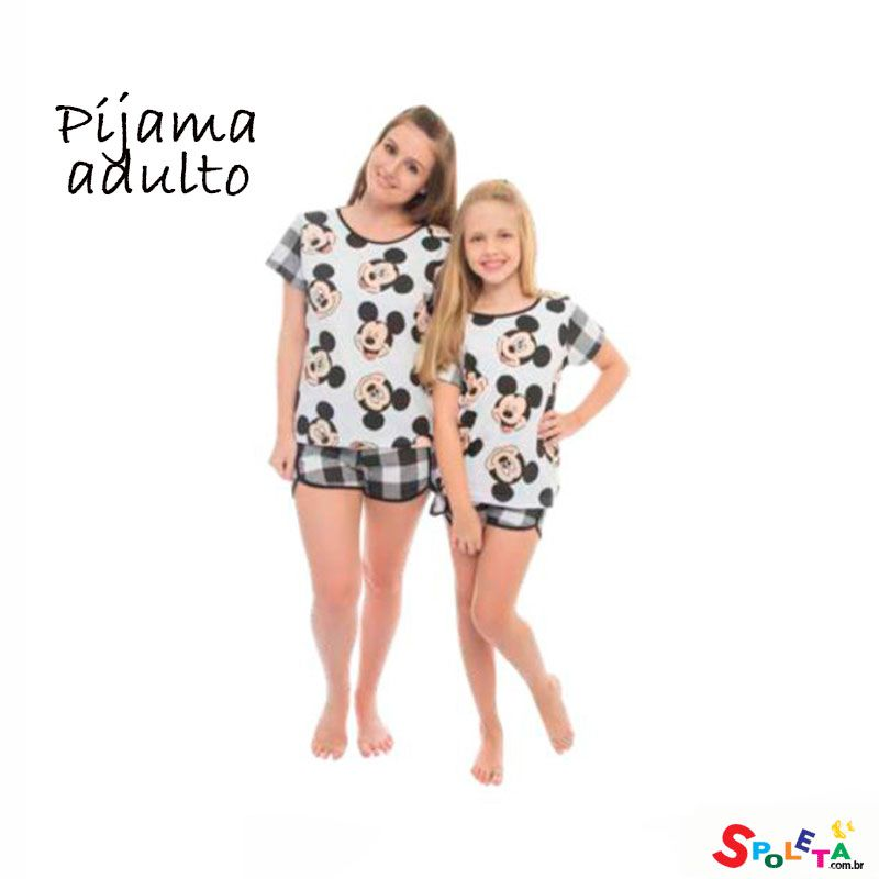 Pijama Mickey Mouse Adulto