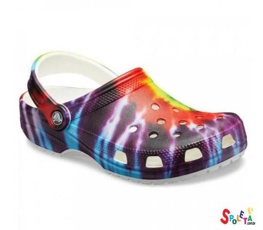 Sandália Crocs Classic Tie Dye