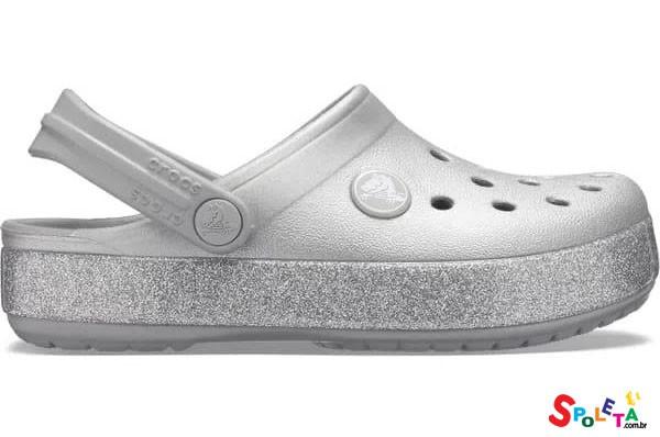 Sandália crocs infantil