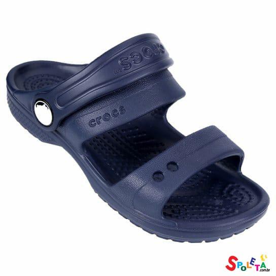 Sandália Crocs Infantil Classic- AZUL MARINHO