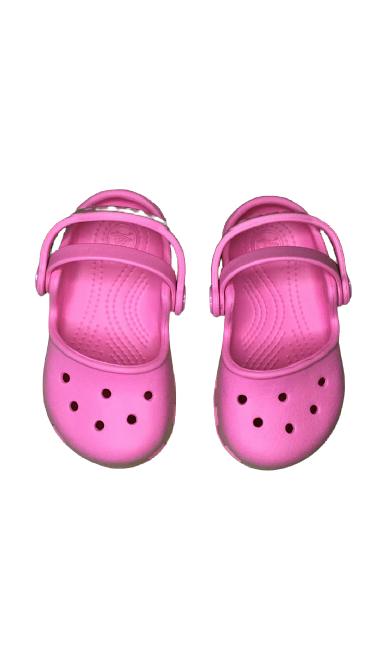 Sandália Crocs Infantil Rosa