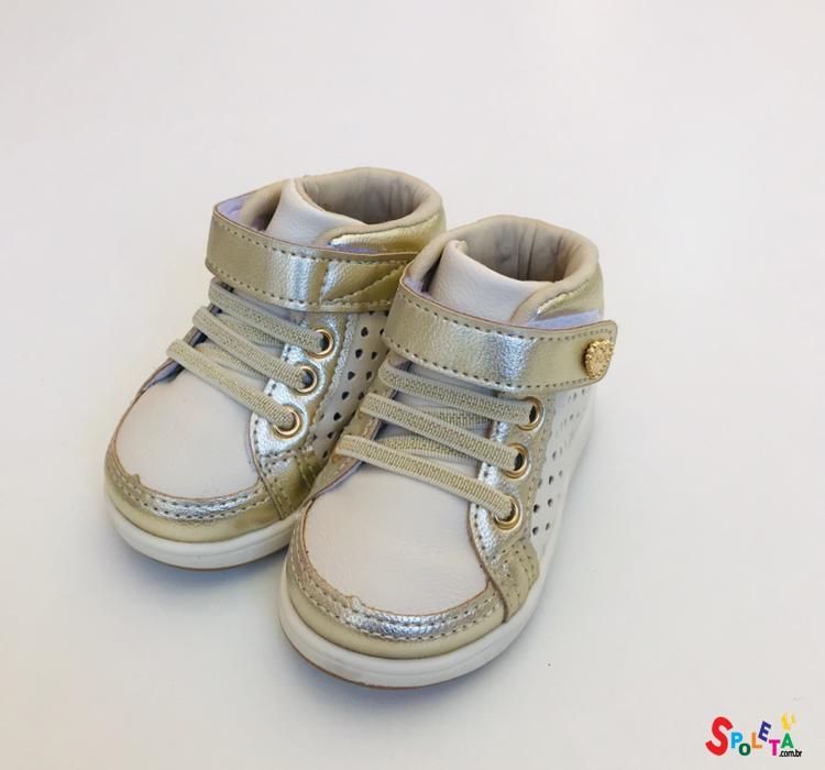 Sapatênis Infantil Feminino Mini Gloss