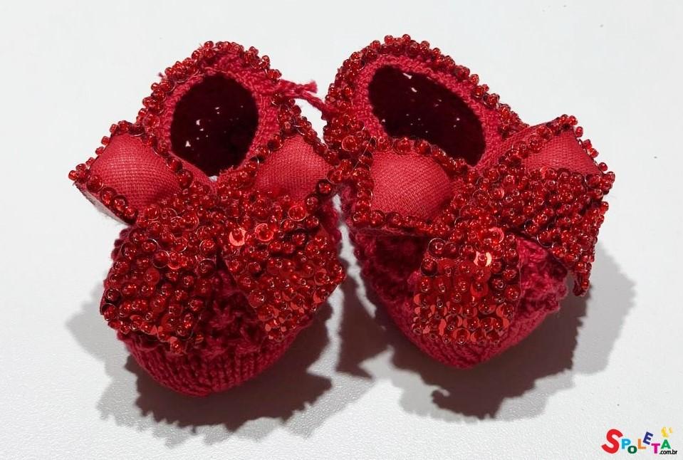 Sapatinho Infantil Feminino Linha Artesanal