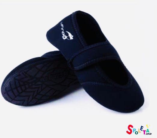 Sapato Neoprene Doll- Preto