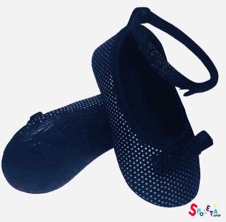 sapato neoprene preto com tira