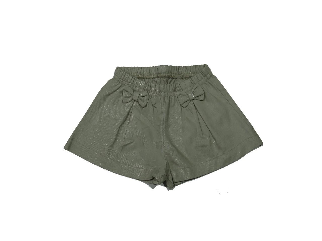 Shorts Feminino Cós Elástico  Off White