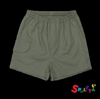 Shorts Sarja Masculino Off White