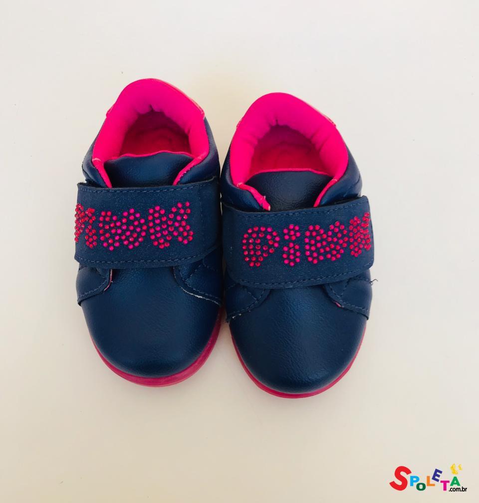 Tênis Feminino Infantil Pink