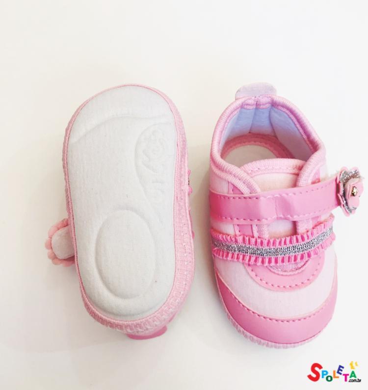 Tênis Feminino Infantil Rosa