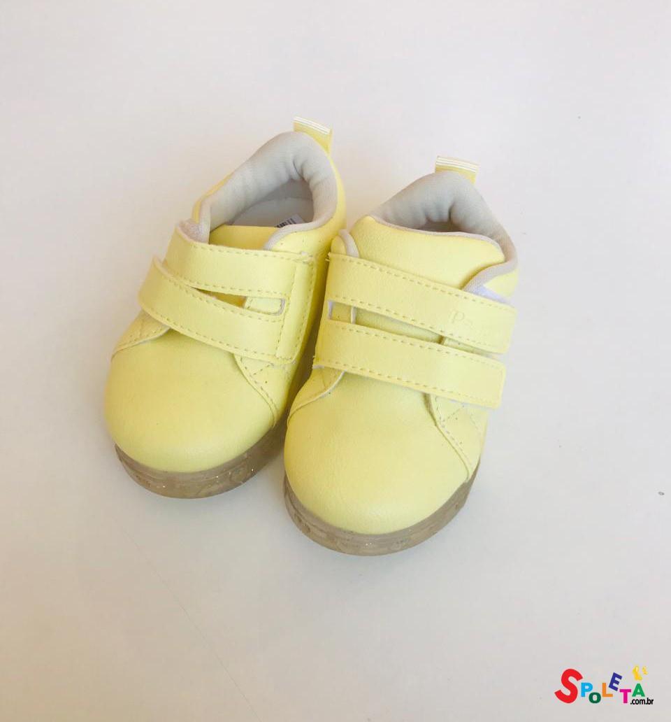 Tênis Infantil Feminino Baby Fun