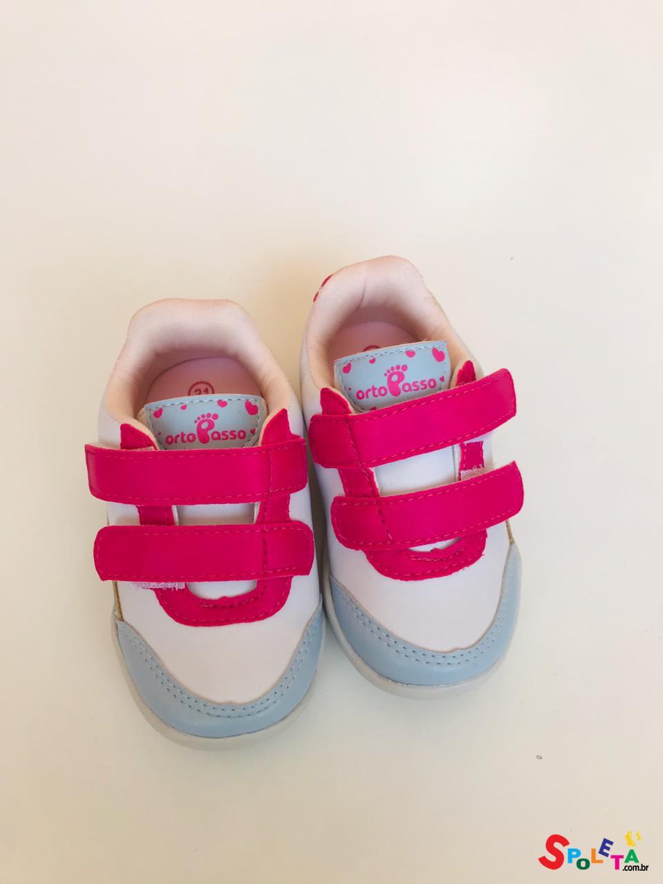 Tênis Infantil Feminino Confete