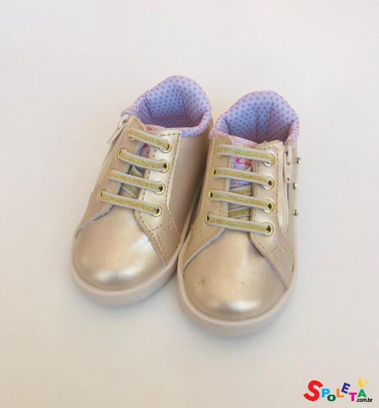 Tênis Infantil Feminino Gold
