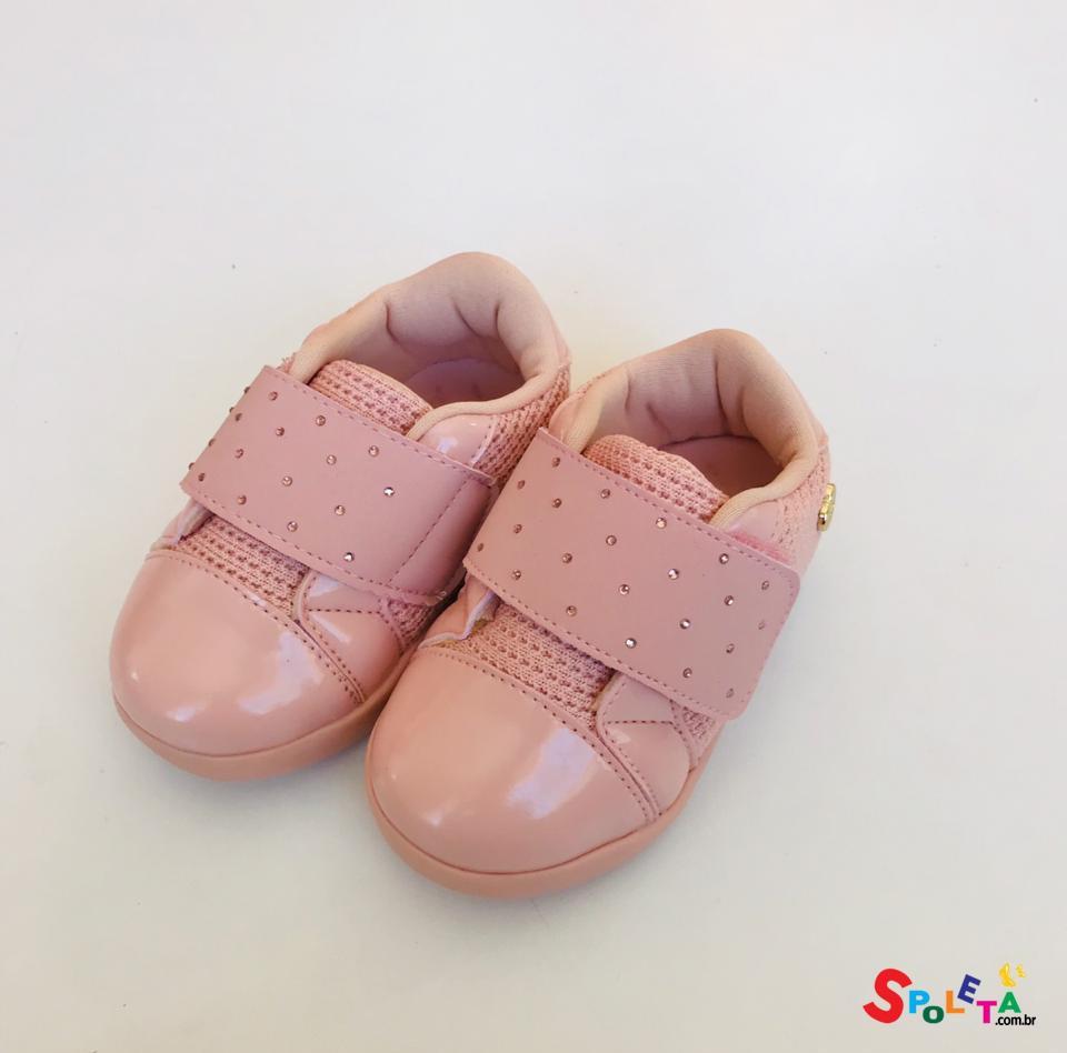Tênis Infantil Feminino Pompom
