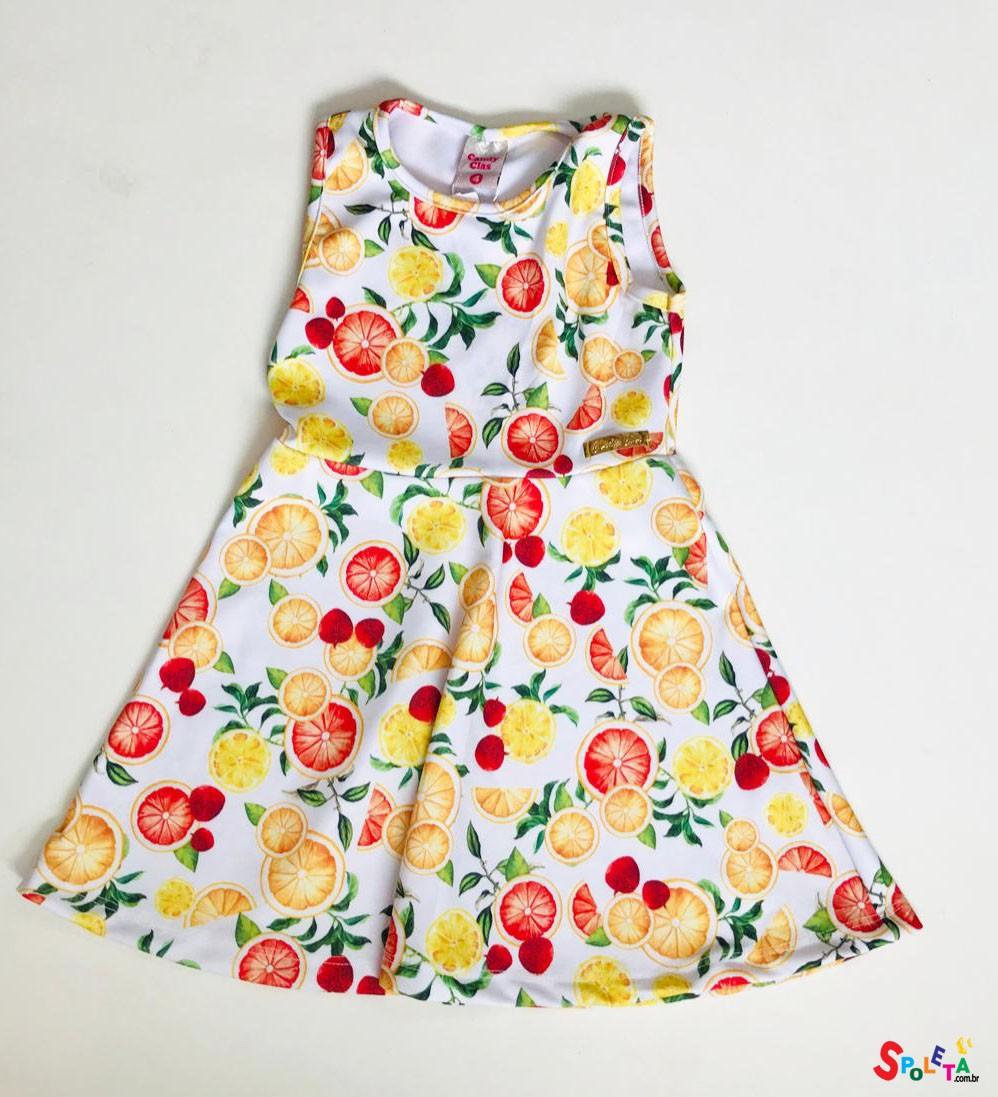 Vestido Infantil Citrus