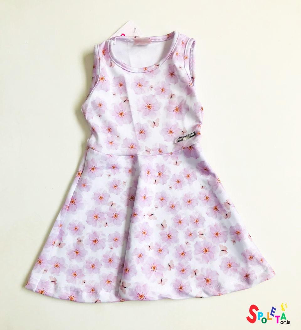 Vestido Infantil Flowers