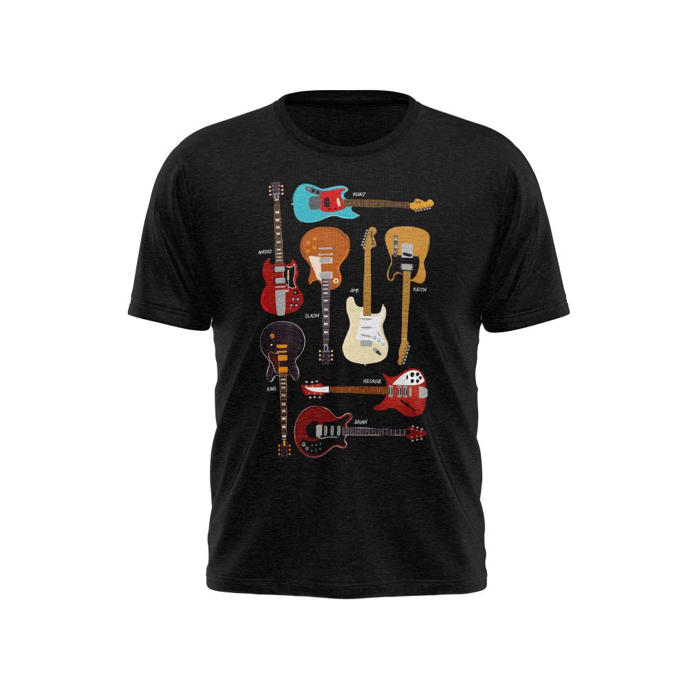 Camiseta Iconic Guitars