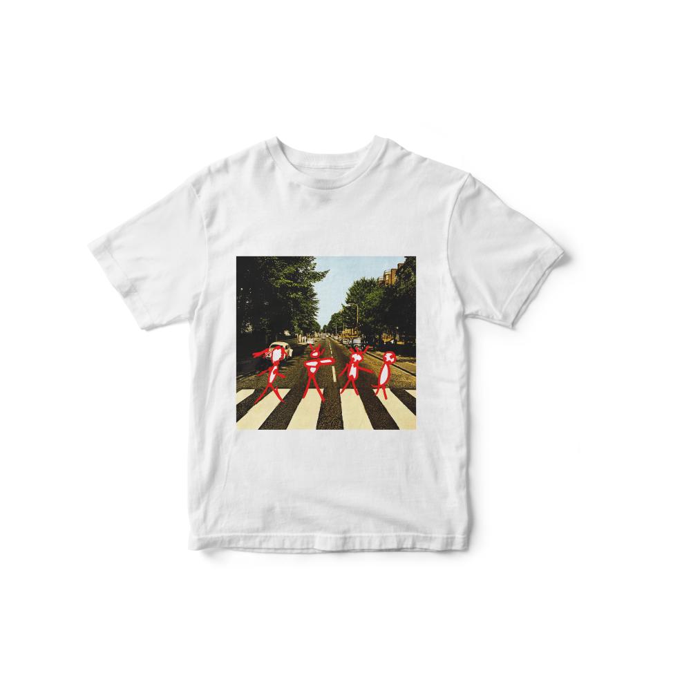 Camiseta INFANTIL Abbey Road