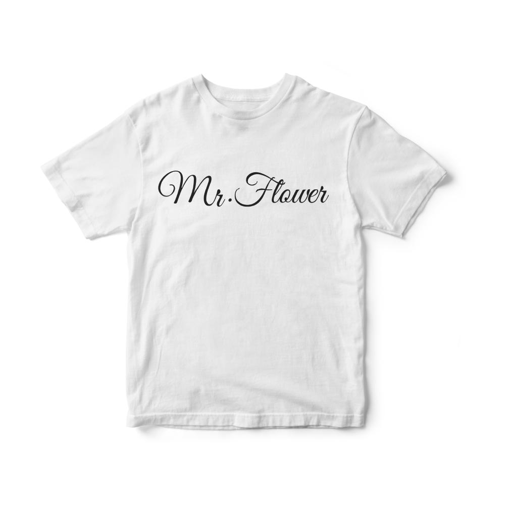 Camiseta INFANTIL Banda Mr. Flower