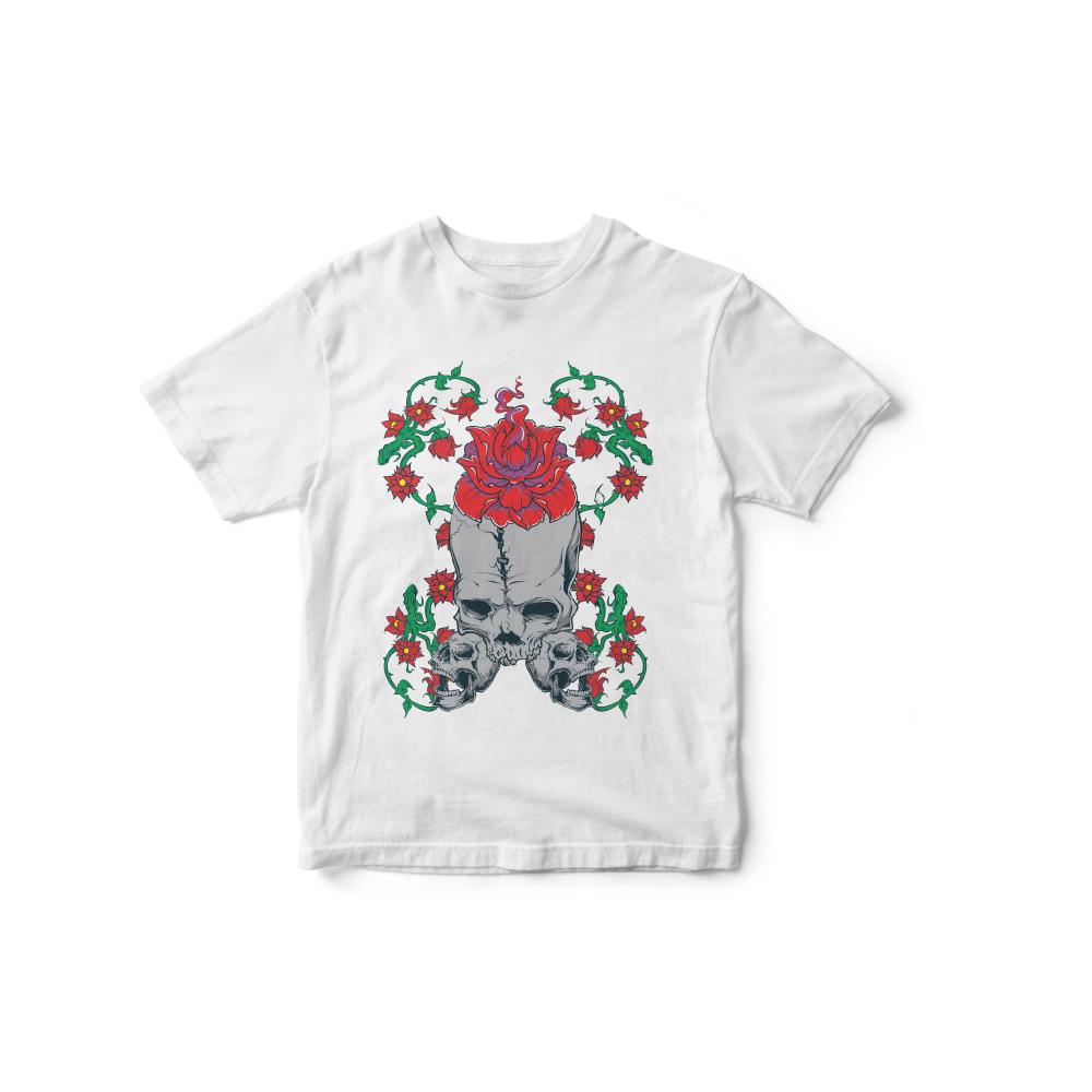Camiseta INFANTIL Caveira