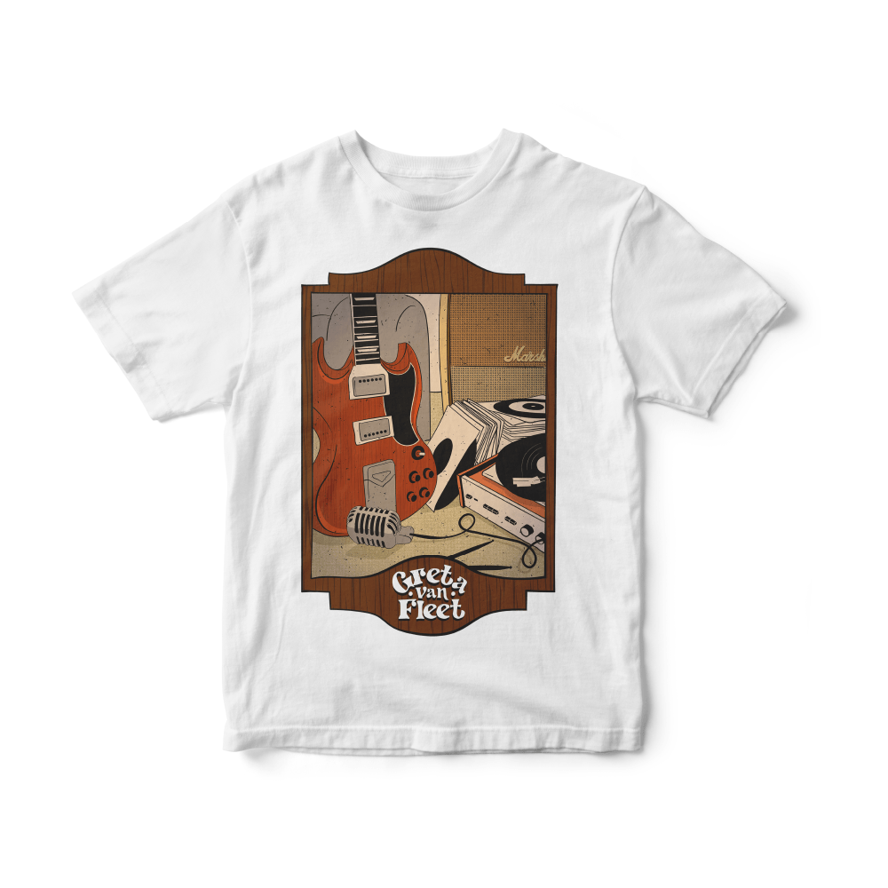 Camiseta INFANTIL Greta Van Fleet