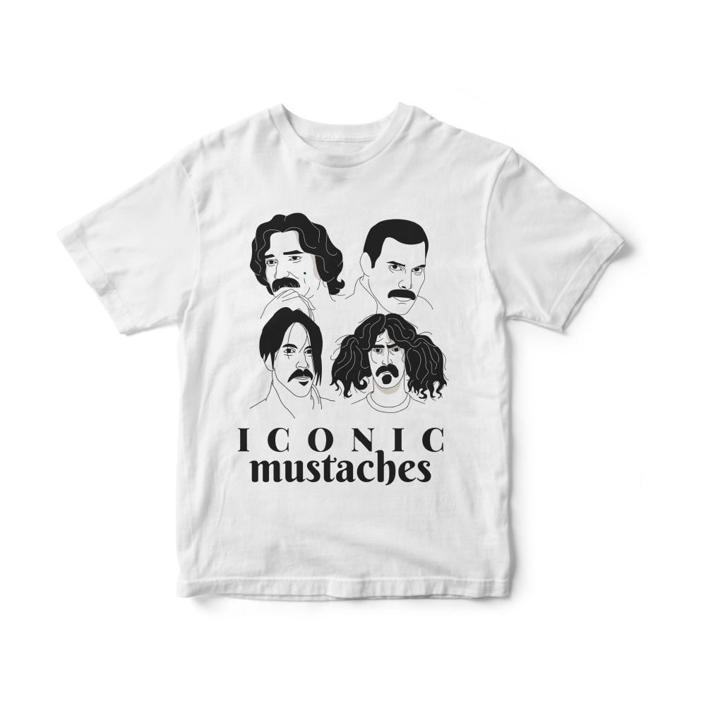 Camiseta INFANTIL Iconic Mustaches