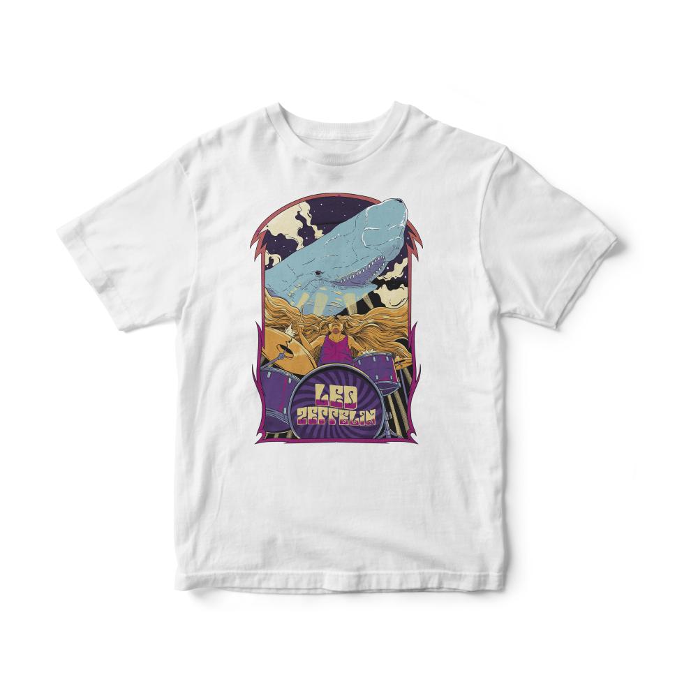Camiseta INFANTIL Led Zeppelin