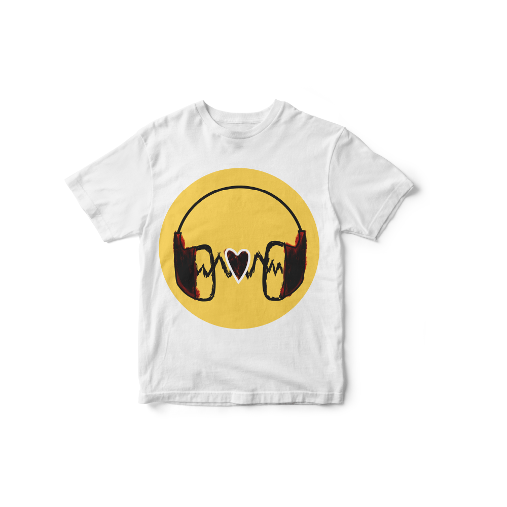 Camiseta INFANTIL Love Music