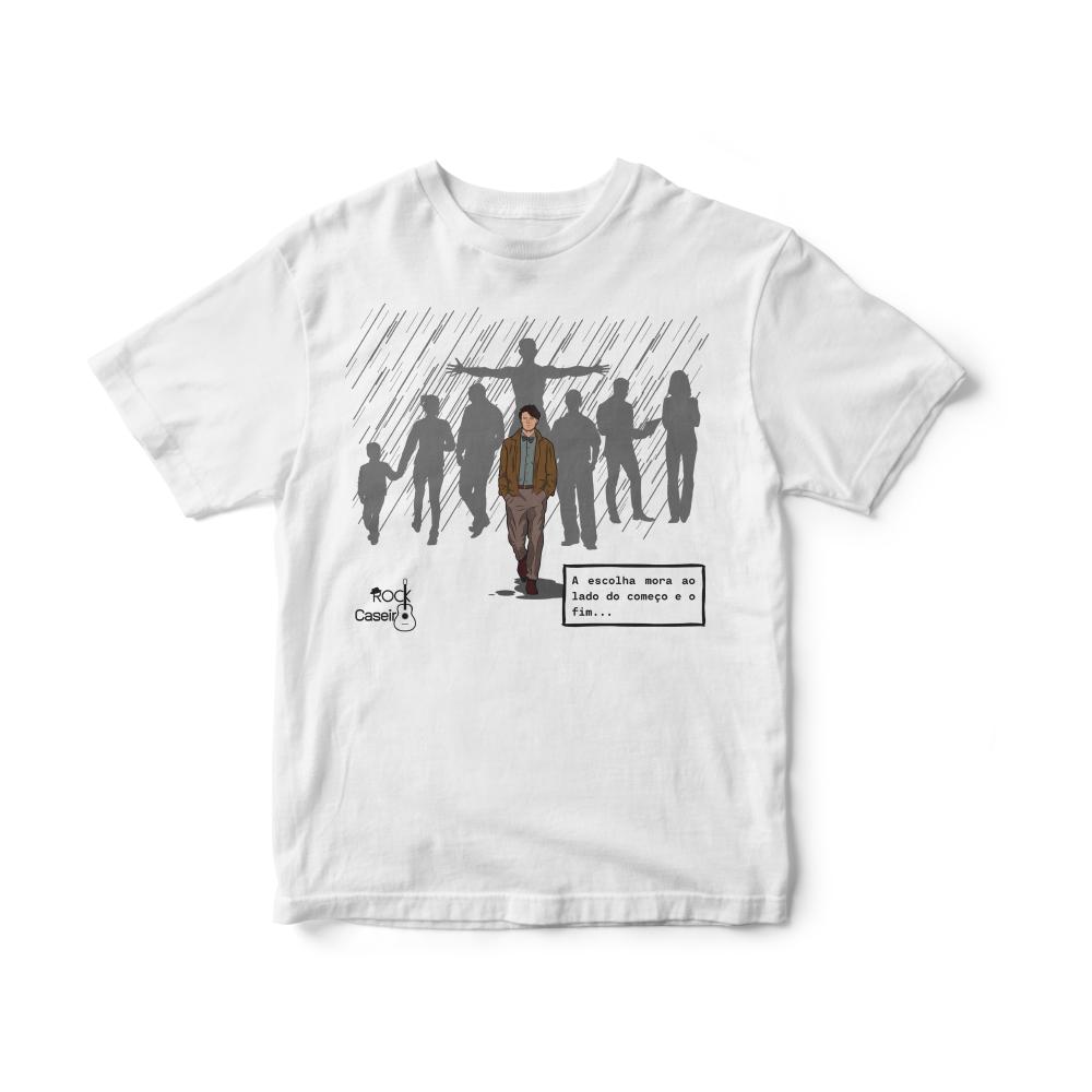 Camiseta INFANTIL Rock Caseiro - Andar na chuva