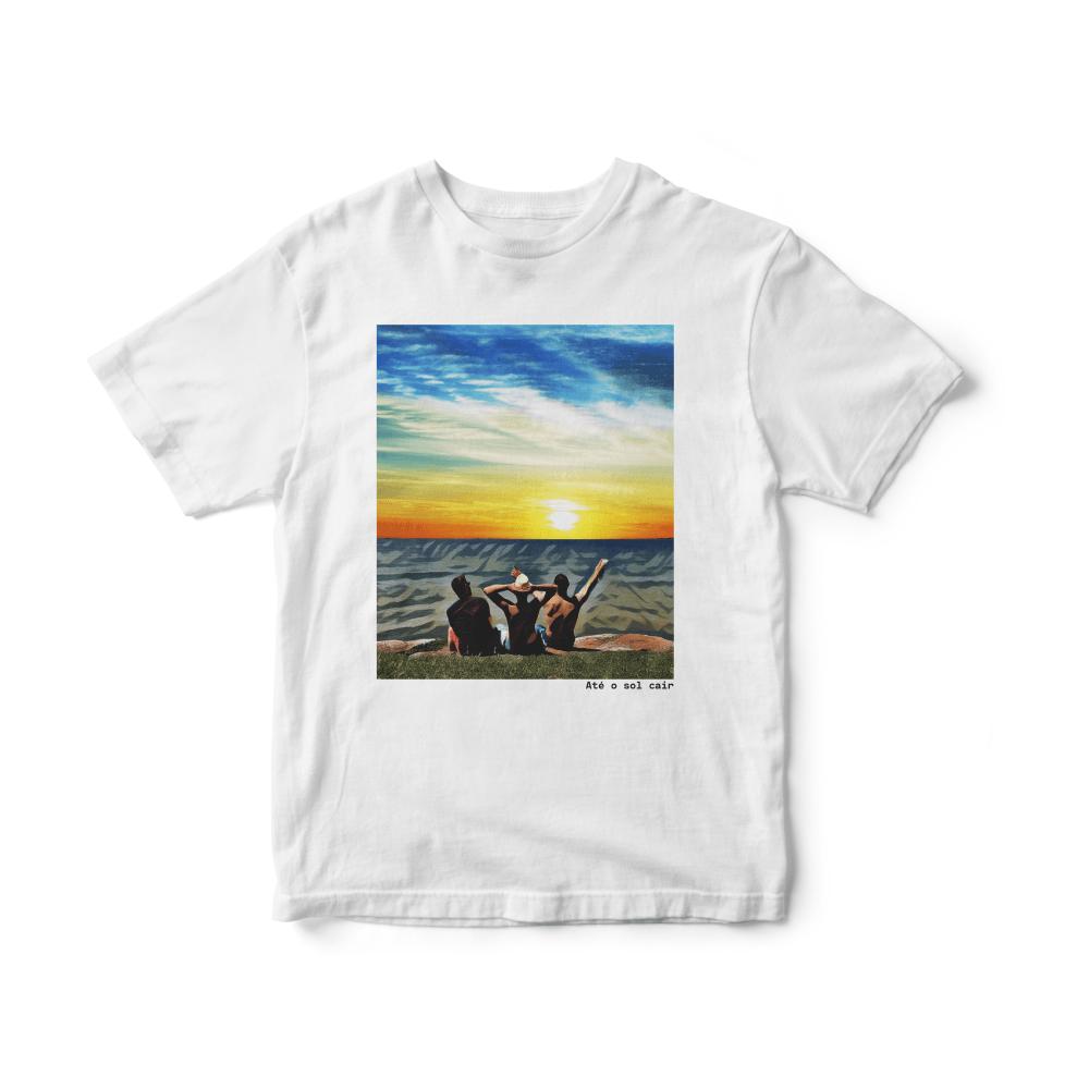 Camiseta INFANTIL Rock Caseiro - Até o sol cair