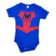Body Personalizado Bebe - Homem Aranha - Mesversário