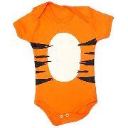 Body Personalizado Bebe - Tigrão  - Mesversário