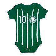 Body Personalizado Bebe - Palmeiras- Mesversário
