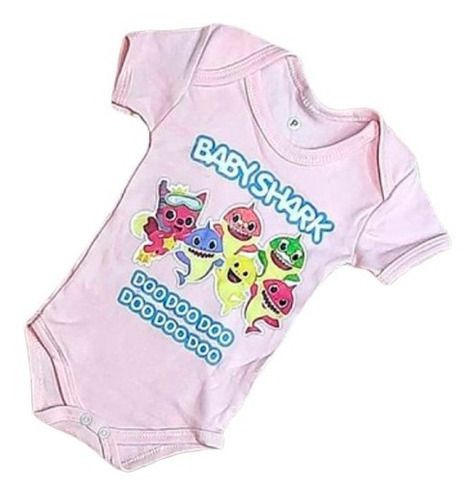 Body Personalizado Bebe - BabySkark - Mesversário