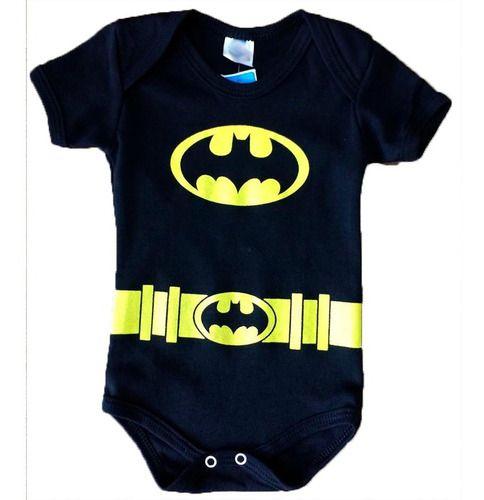 Body Personalizado Bebe Batman - Mesversário