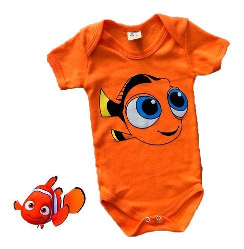 Body Personalizado Bebe - Nemo - Mesversário