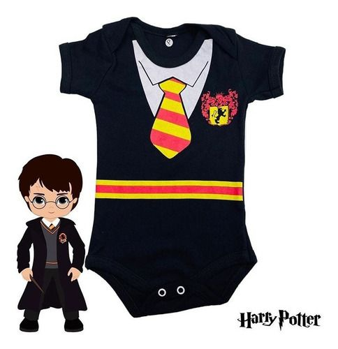 Body Personalizado Bebe - Harry Potter- Mesversário