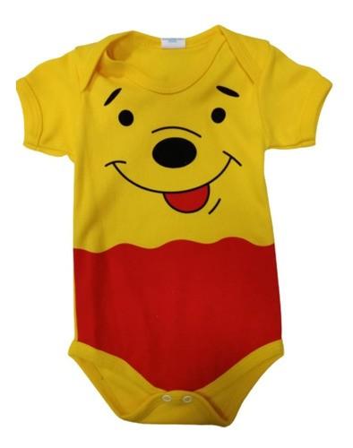 Body Personalizado Bebe Ursinho Pooh Mesversário