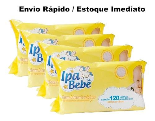 Lenços Umedecidos Upa Bebê 12 Pct Atacado