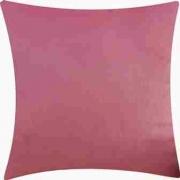 Almofada 45 Cm X 45 Cm Com Zíper + Enchimento Rosa