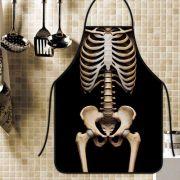 Avental Divertido Personalizado Esqueleto