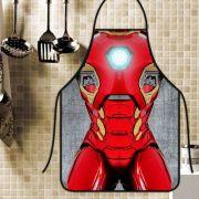 Avental Divertido Personalizado Homem de Ferro