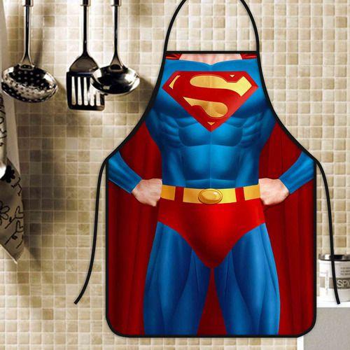 Avental Divertido Personalizado Super Homem