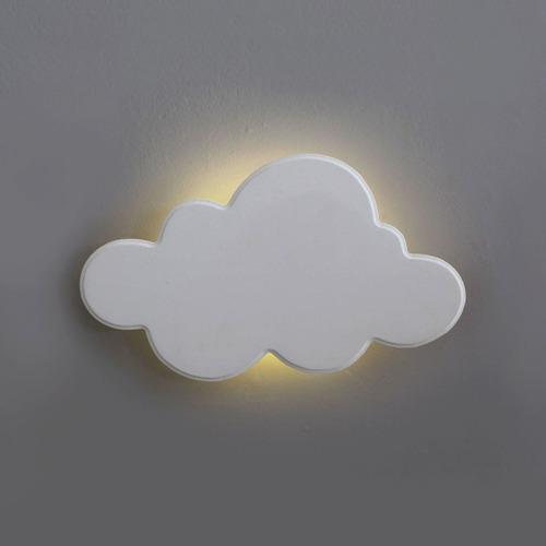 Luminária Decorativa Nuvem Pequena Com Led De Luz Quente