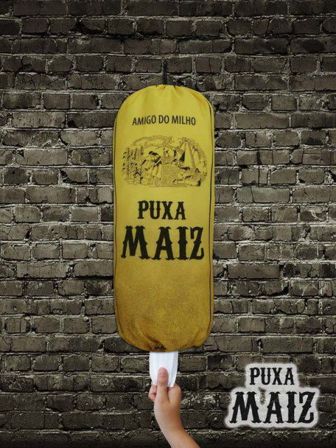 Puxa Saco  Divertido Puxa Maiz