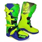Bota IMS Factory Verde/amarela/azul Lançamento