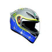 Capacete AGV K1 Rossi Mugello 2015 Lançamento